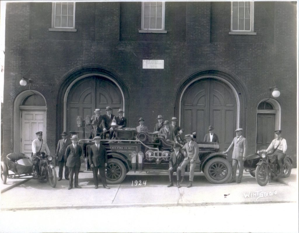 Catasauqua Police Department in 1924